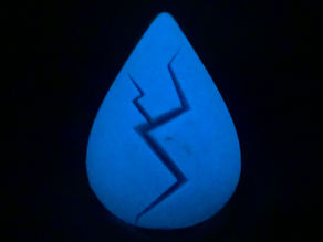 Lapis Lazuli cracked gem (Steven Universe)