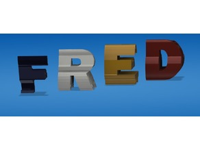 Double letters & logo