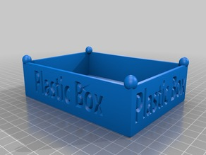 Plastic Box 130x95x36mm