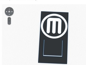 Makerbot Bookmark