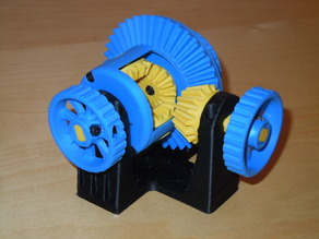 Functional Differential Gear System