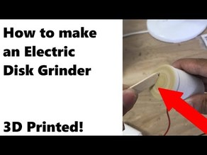 Electric Disk Grinder