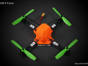 PS-240 X-Frame Quadcopter - X-Quad