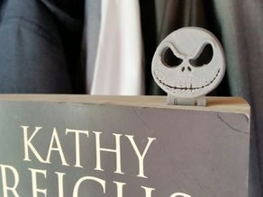 Jack´s head bookmark (Nightmare Before Christmas)