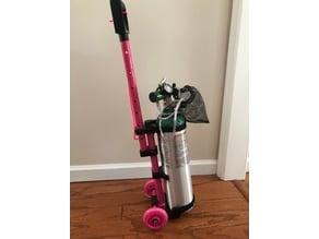 Oxygen tank roller
