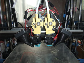 Double Extruder Mounts