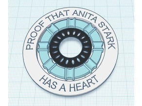 IronWoman Arc Reactor