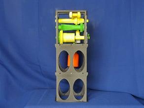 Galileo Pendulum Clock Mk II smaller, faster