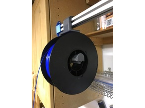 Filament Spool for 2525 Extrusion
