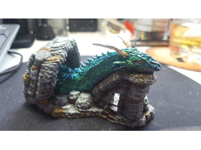 Dragon Cave Greater Worm
