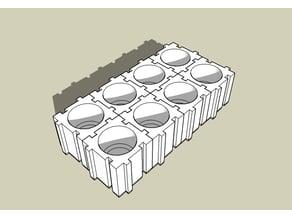 Modular Cube Vallejo Paint Bottle holder