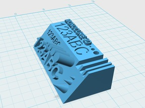 Monocure 3D Calibration