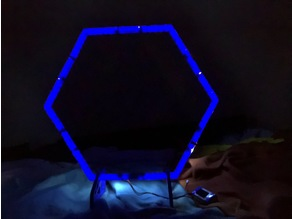 Tiny Whoop Gate with LED Holder