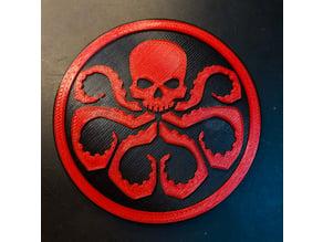 Hydra Fridge Magnet
