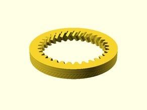 Parametrisches Pfeil-Hohlrad / Parametric Herringbone Ring Gear