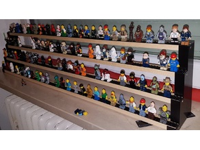 minifigures lego stand