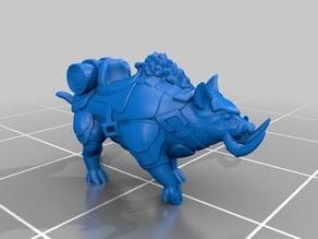 War Pig Mount Miniature