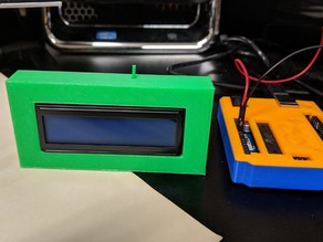 16x2 LCD screen case for arduino