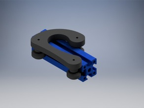 Sliding Clamp for 25x25 mm profile