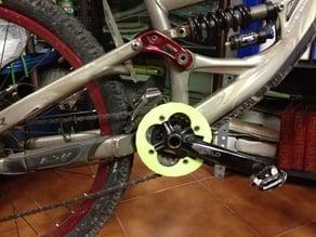 bash for mountain bike, reggicatena mtb