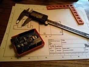 Arduino Basic Case - Using FreeCAD for Tutorial