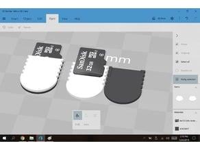Micro SD Card grip