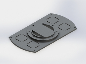 "Mounting plate for the Turnigy HAL ""Hexacopter"""