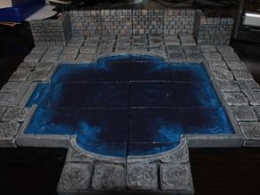 OpenForge Stone and Concrete Pool