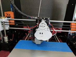 Anet A8 Mario Cloud Fan Cover
