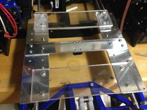 Anet a8 bed frame supports(for cnc upgrade)