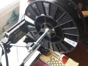 Hesine M-505 (Prusa i3) spool holder for 8mm screw