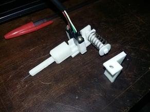 Crash Probe with optical switch
