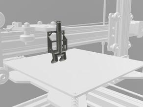 TEVO Tarantula Compressed Air Nozzle for stock dual extruder.