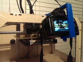 Large Camera Time-lapse Mount