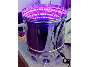 Rotating UV oven