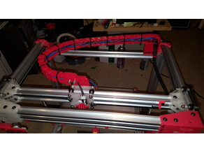 Cable chain anchor mounts for D-bot
