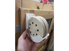 "Modular 5"" sanding disc storage"