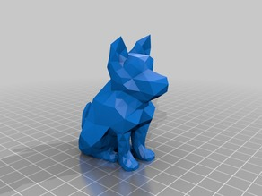 Low Poly puppy