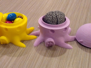 Cute (and smart) Octopus candy holder