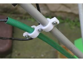 Reperatur eines Vertikutierer und Vorsorge, das das Kabel nicht wieder einklemmt ...
