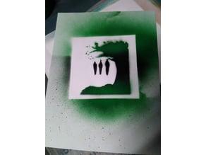 Death Tree Stencil