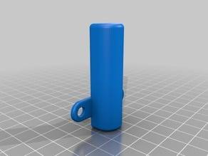 Damper socket for ALU profile or furniture