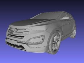 3D Model Hyundai Santa Fe Sport 2013 - 2014