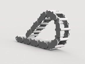 Modular cable chain