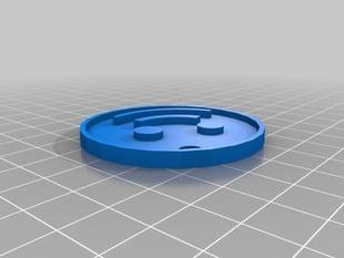 UpLink.To Logo Keychain Fob