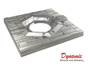 Death Star Surface Tile 01H - Thermal Exhaust Port