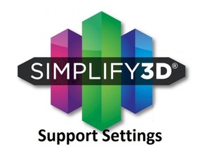 S3D Simplify3D Supports Settings