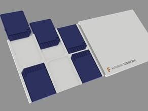 ultra slim SD Card Tray Keychain