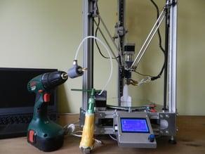 Micro pellet extruder