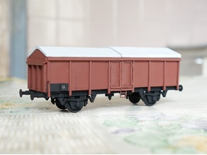 DB wagon with sliding roof 1:87 (H0)